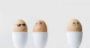 Eifersüchtige Eier