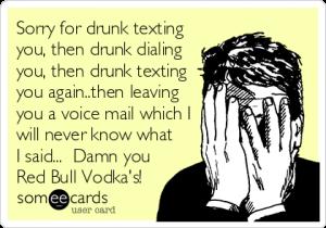 Betrunkene Nachricht Meme