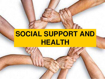 Social support and health, Zusammenhalt