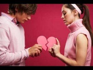 Gebrochenes Herz reparieren zwischen Mann und Frau